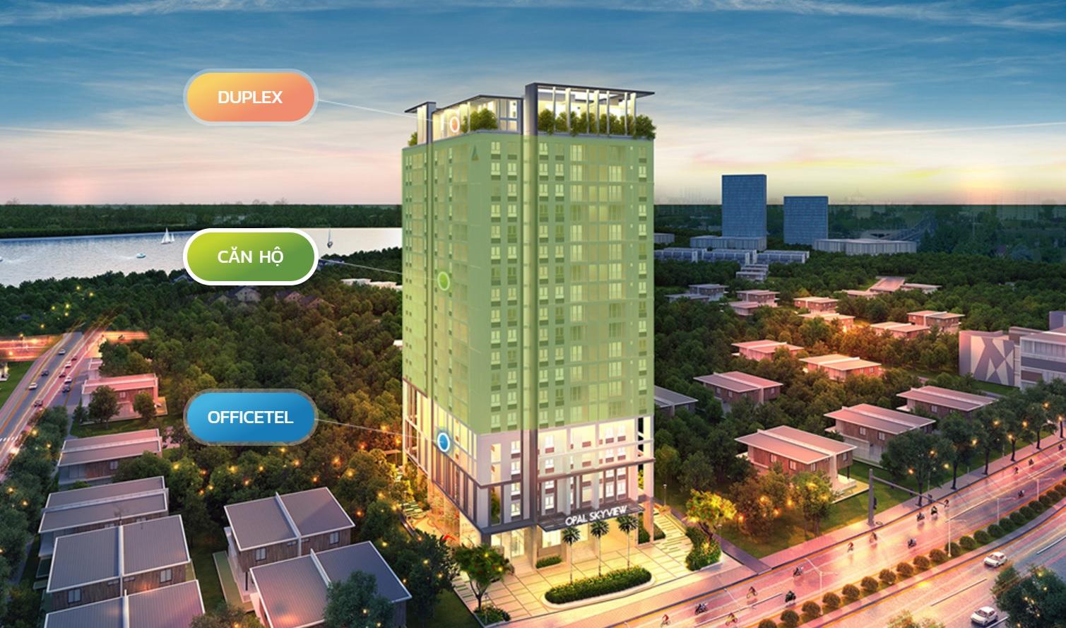 Dự án Opal Skyview – Nét đặc sắc từ sản phẩm mới