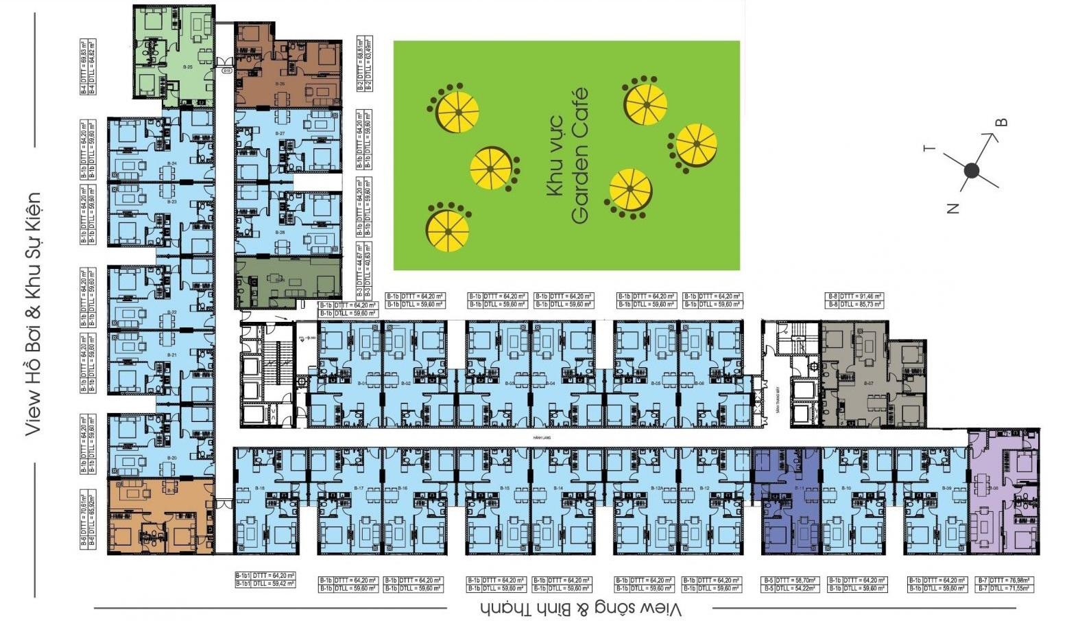 dự án căn hộ chung cư Sunview Town