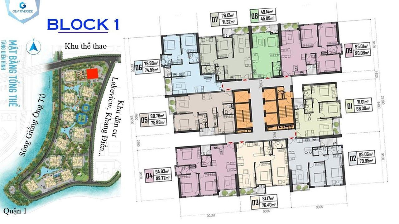 dự án căn hộ Gem Riverside quận 2