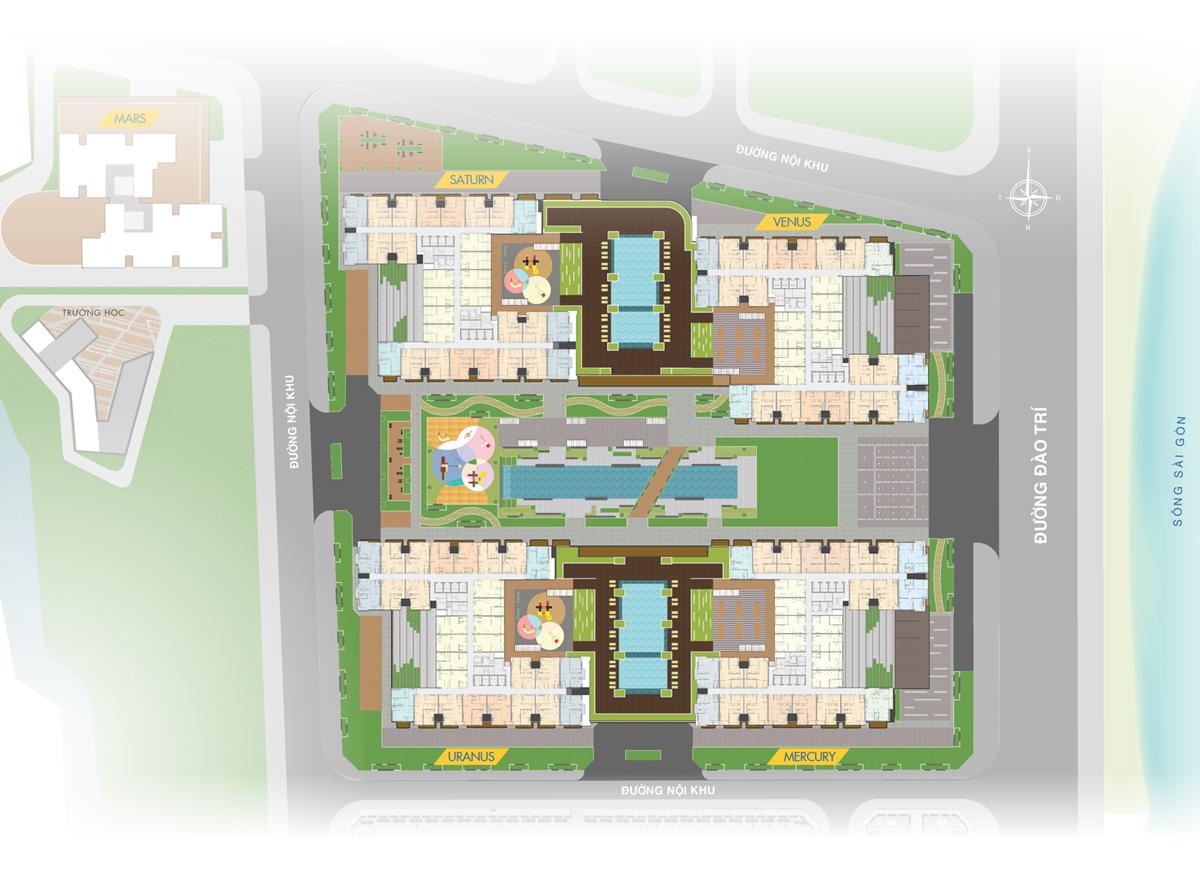 Khu Q7 Saigon Riverside Complex Quận 7 – Thế đất mạnh, tiềm năng lớn