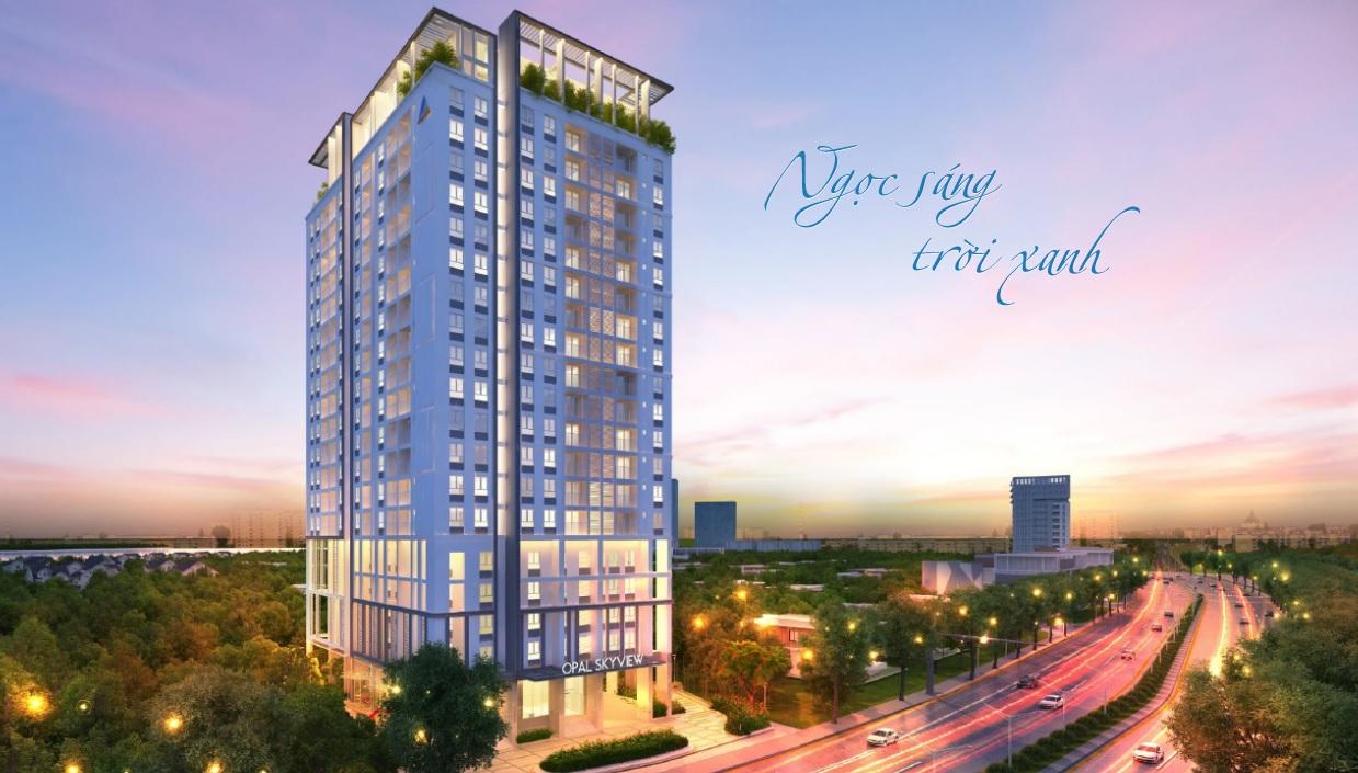 Bảng giá cho thuê căn hộ chung cư Opal Skyview 19