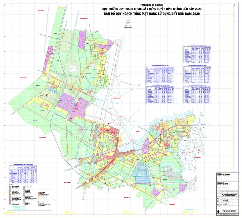 Bảng giá nhà đất huyện Bình Chánh từ năm 2015 đến 2019