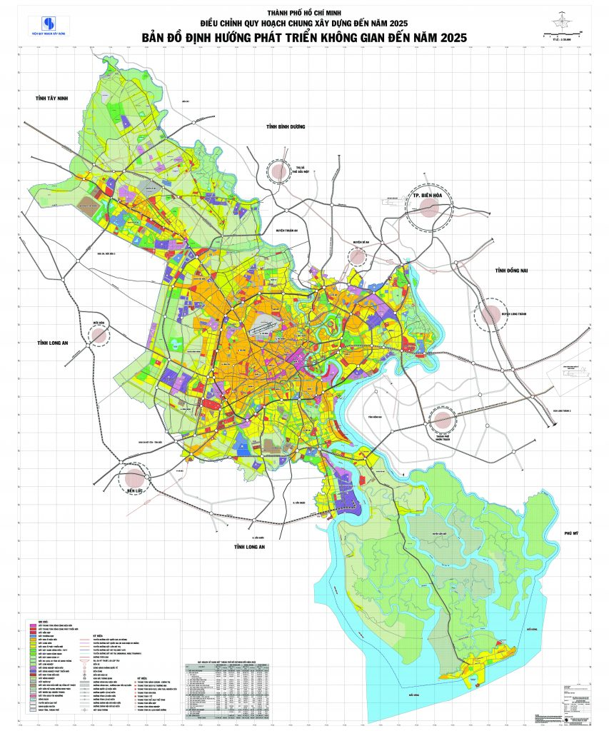 Bản đồ quy hoạch Tp.HCM