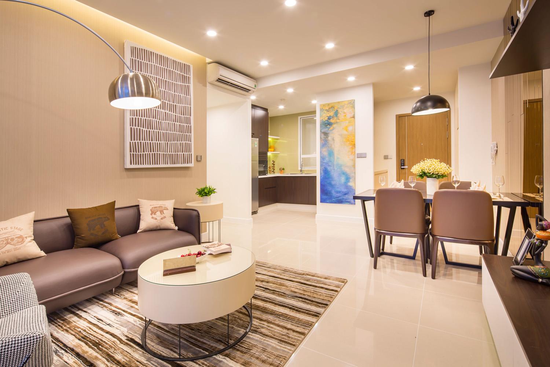 Tiện ích trung tâm thương mại sầm uất tại Căn hộ chung cư cho thuê Richstar