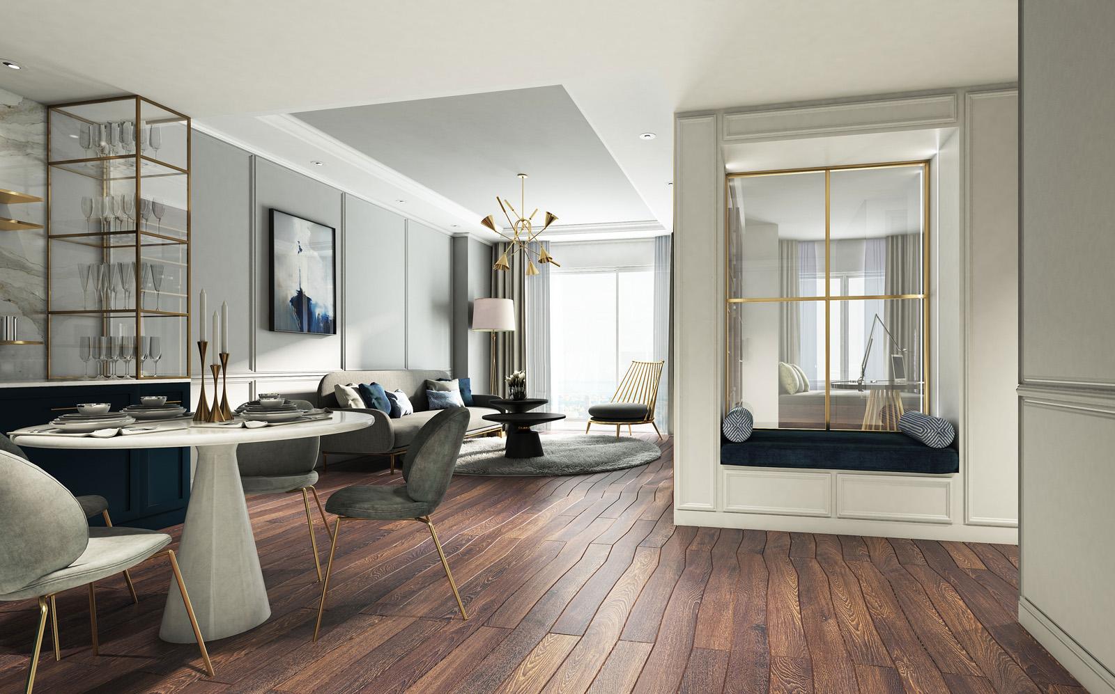 Bảng giá cho thuê căn hộ chung cư Madison