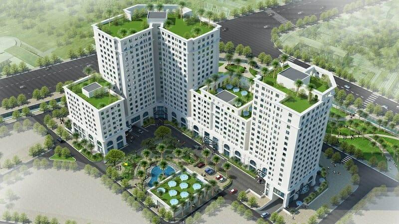 Bảng giá cho thuê căn hộ chung cư Eco City Việt Hưng