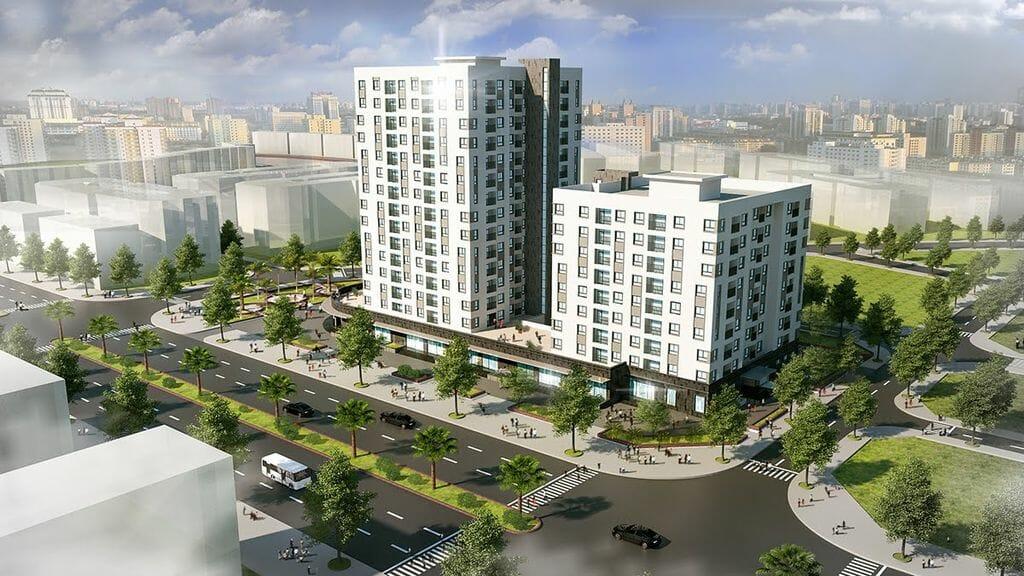 Bảng giá cho thuê căn hộ chung cư Handico Garden NO-08 Giang Biên