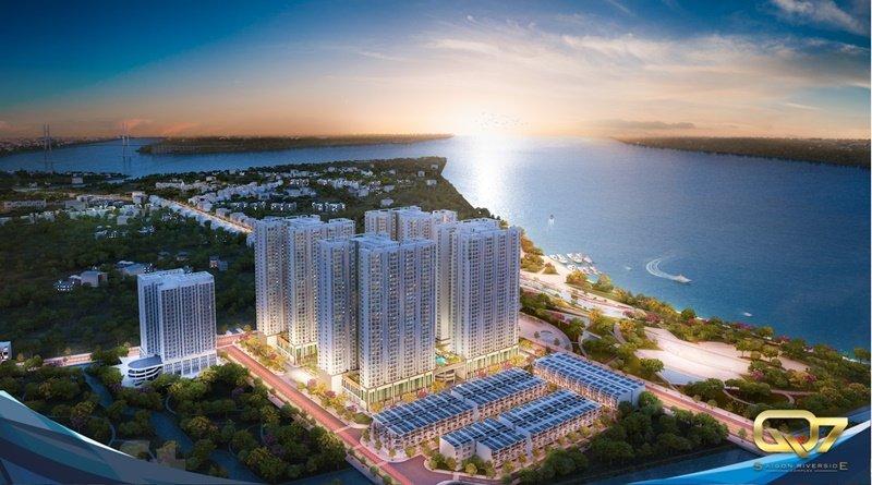 Bảng giá cho thuê căn hộ chung cư Q7 Saigon Riverside Complex