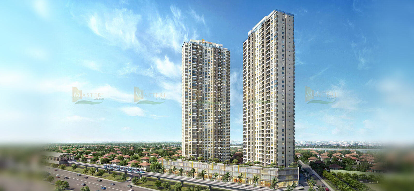 Bảng giá cho thuê căn hộ chung cư Masteri An Phú