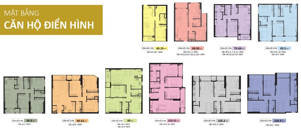 dự án căn hộ Golden Mansion