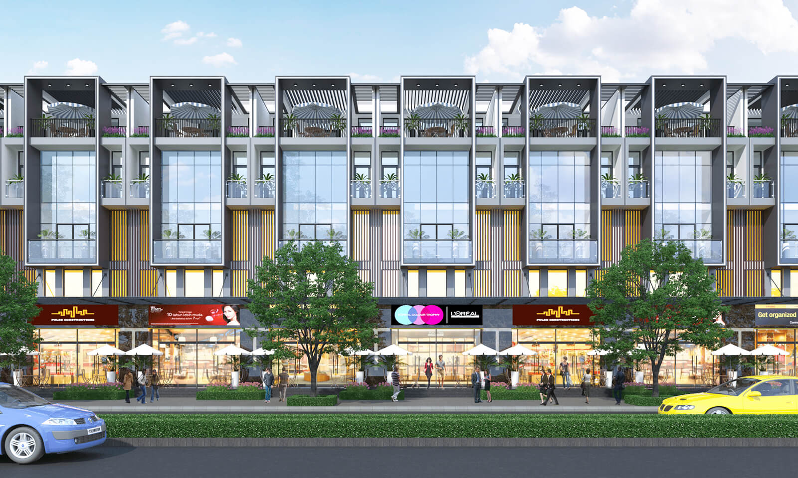 Bảng giá cho thuê shophouse quận Gò Vấp