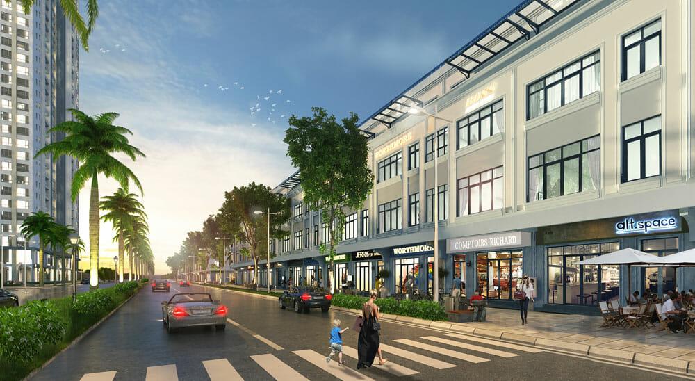Bảng báo giá bán dự án shophouse quận Bình Thạnh 12