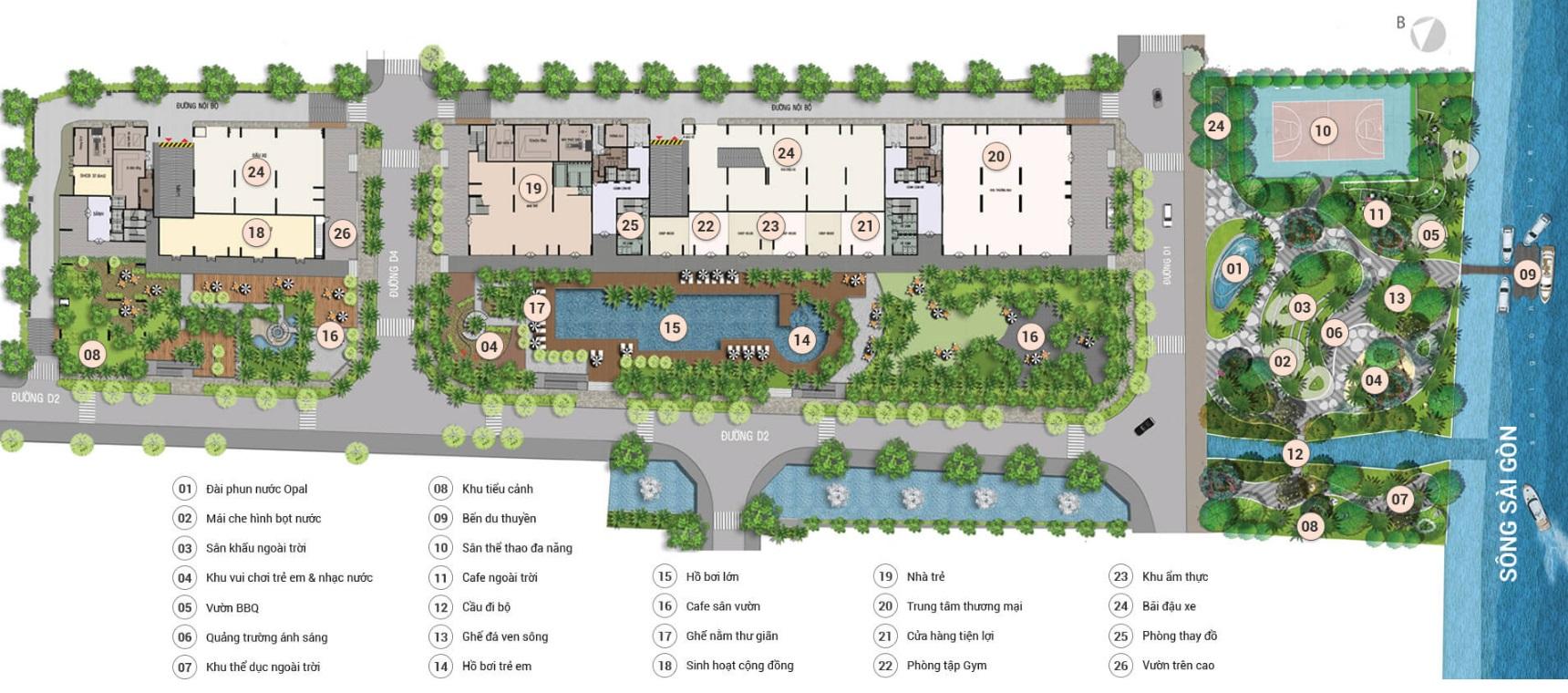 Căn hộ Opal Riverside cho thuê thay đổi diện mạo cho tỉnh thanh hóa