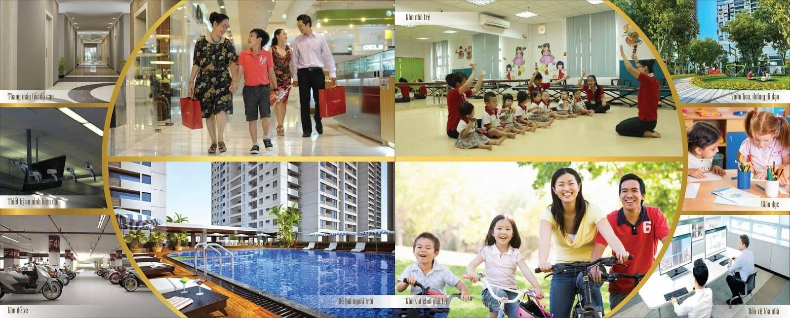 Bảng giá cho thuê căn hộ chung cư 8x Thái An