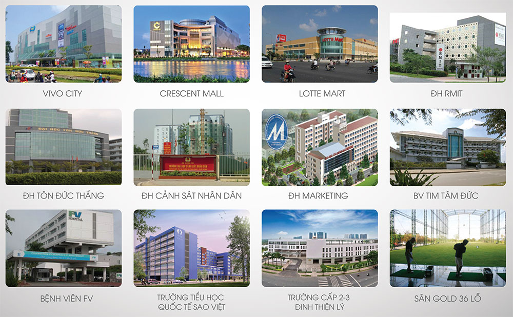 Bảng giá cho thuê căn hộ chung cư Luxcity