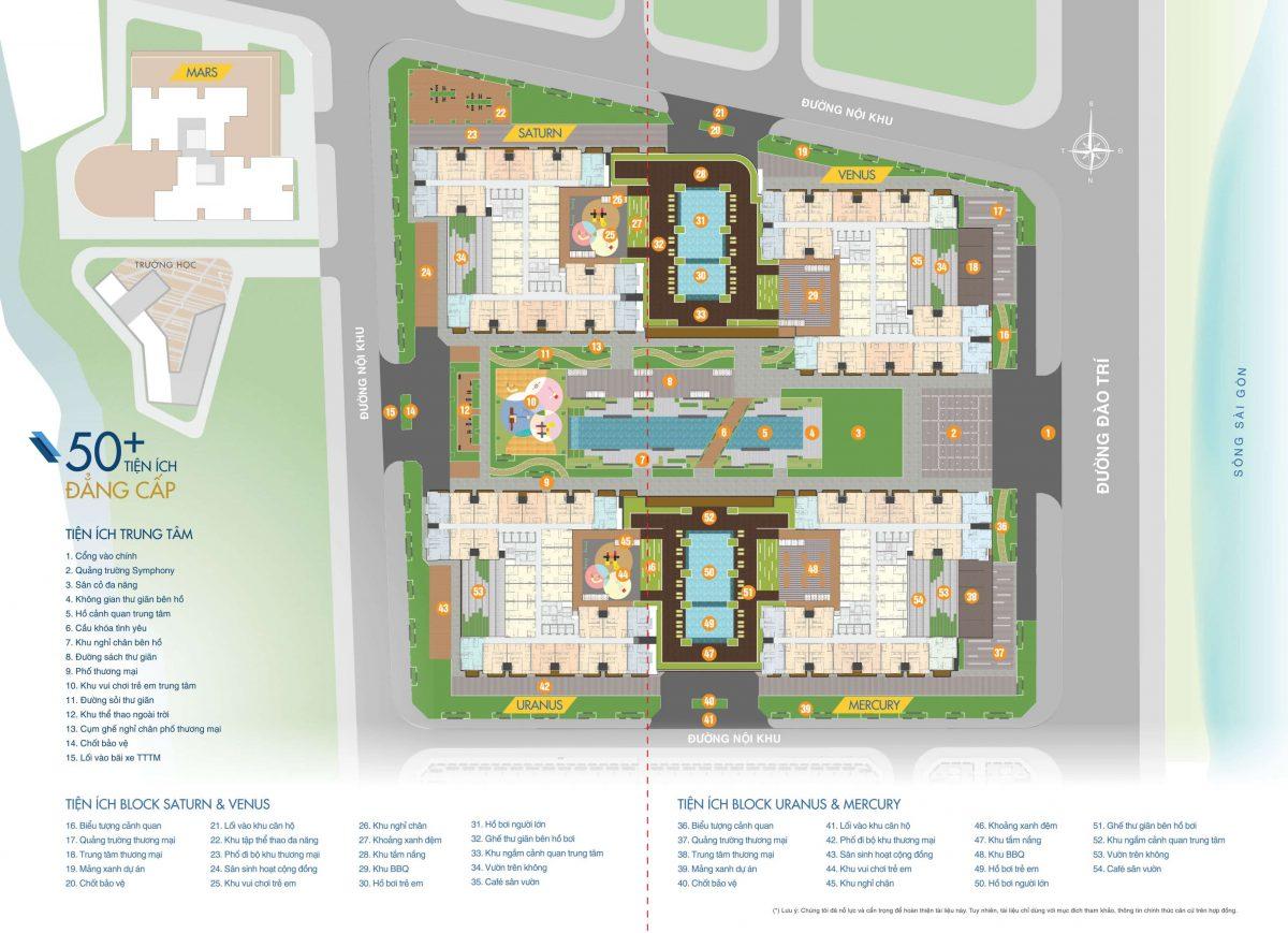 Căn hộ Q7 Saigon Riverside Complex được hưởng lợi gì từ địa điểm ?
