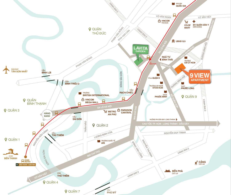 Bảng giá cho thuê căn hộ chung cư 12 View