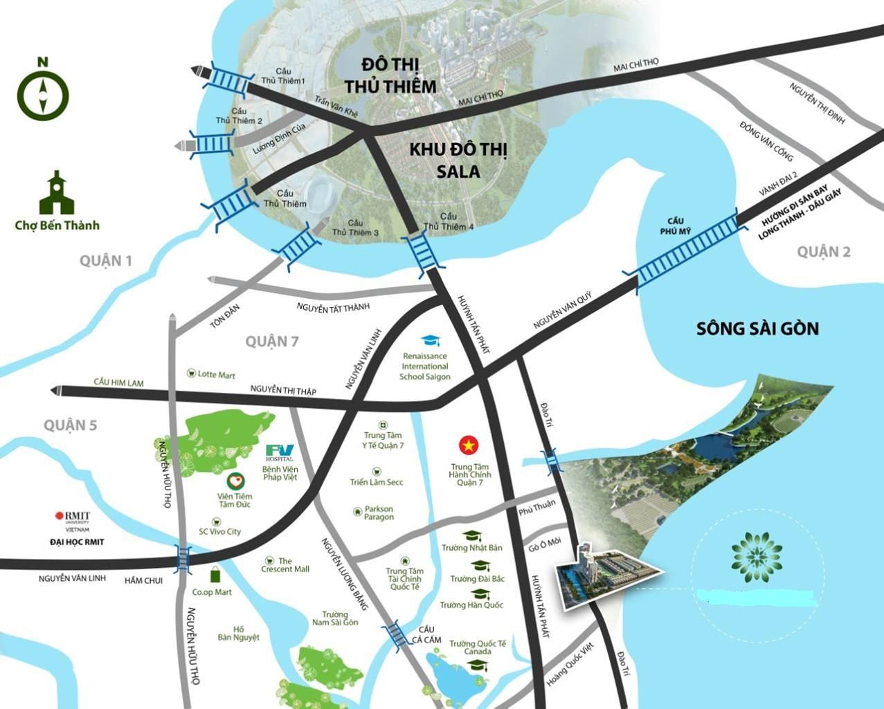 Khu căn hộ hạng sang Q7 Saigon Riverside Complex được nhiều khách hàng nước ngoài chú ý
