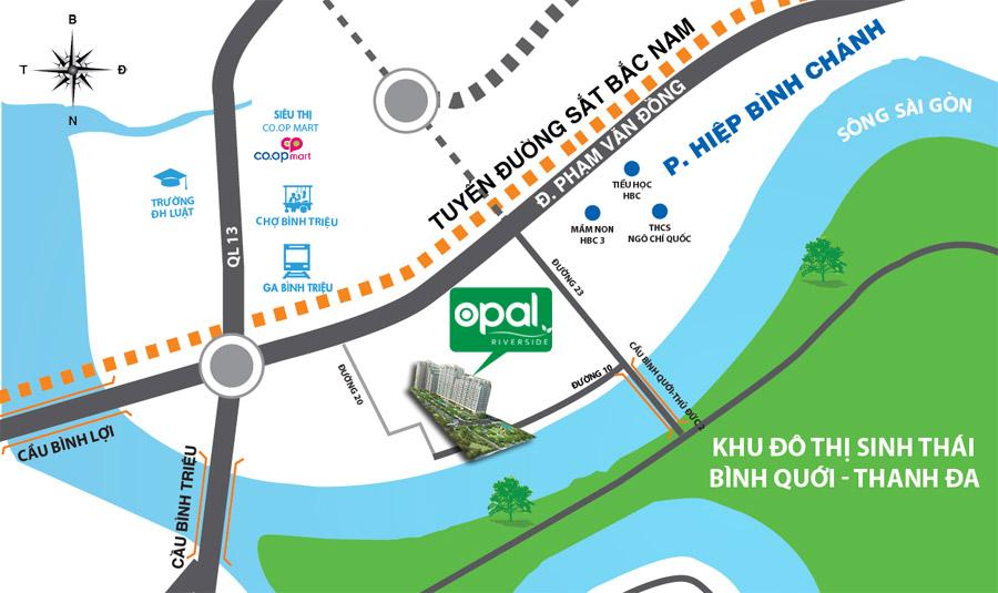 Bảng giá cho thuê căn hộ chung cư Opal Riverside