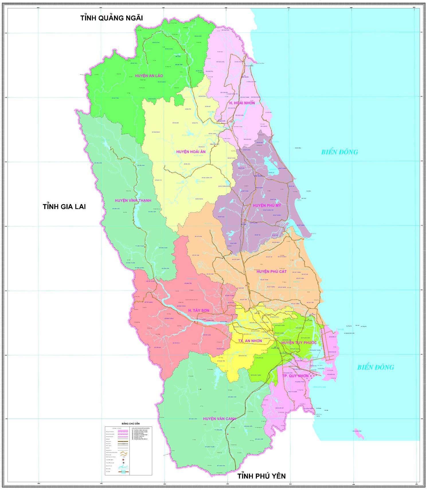 Bảng giá nhà đất Bình Định từ năm 2015 đến 2020