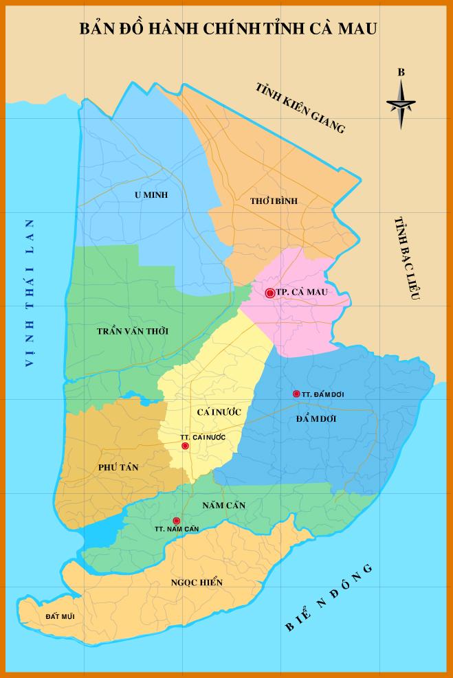 Bảng giá nhà đất Cà Mau từ năm 2015 đến 2020