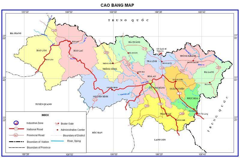 Bảng giá nhà đất Cao Bằng từ năm 2015 đến 2020
