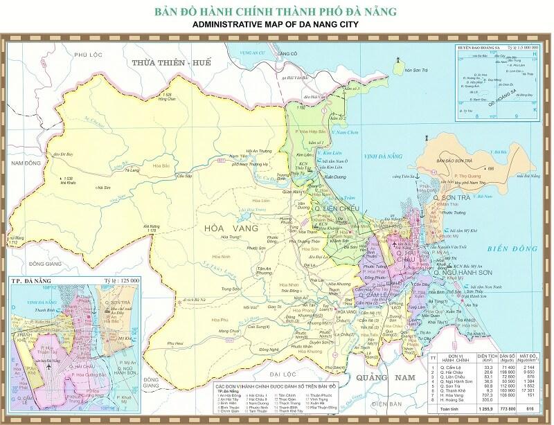 Bảng giá nhà đất Đà Nẵng từ năm 2015 đến 2020