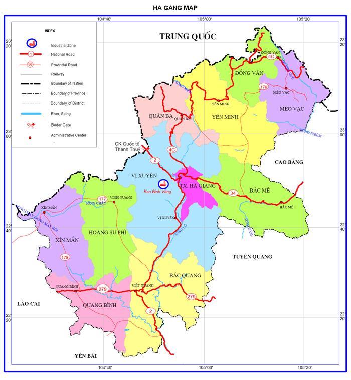 Bảng giá nhà đất Hà Giang từ năm 2015 đến 2020