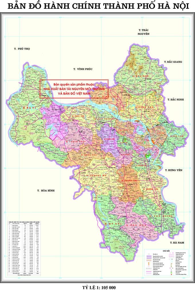 Bảng giá nhà đất Hà Nội từ năm 2015 đến 2020