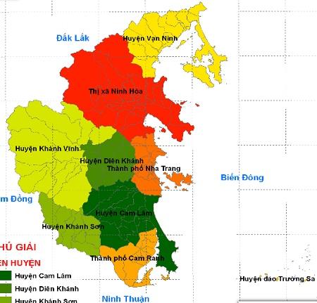 Bảng giá nhà đất Khánh Hòa từ năm 2015 đến 2020