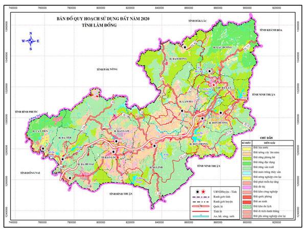 Bảng giá nhà đất Lâm Đồng từ năm 2015 đến 2020