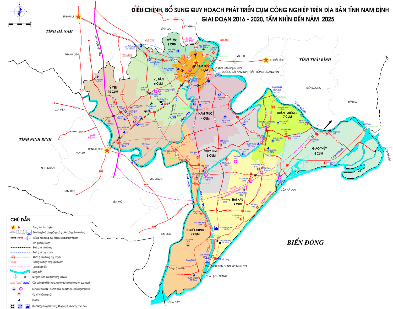 Bảng giá nhà đất Nam Định từ năm 2015 đến 2020