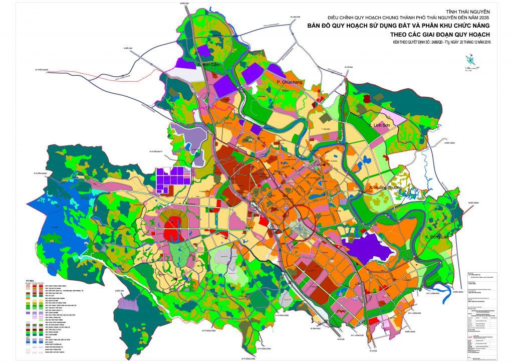 Bảng giá nhà đất Thái Nguyên từ năm 2015 đến 2020