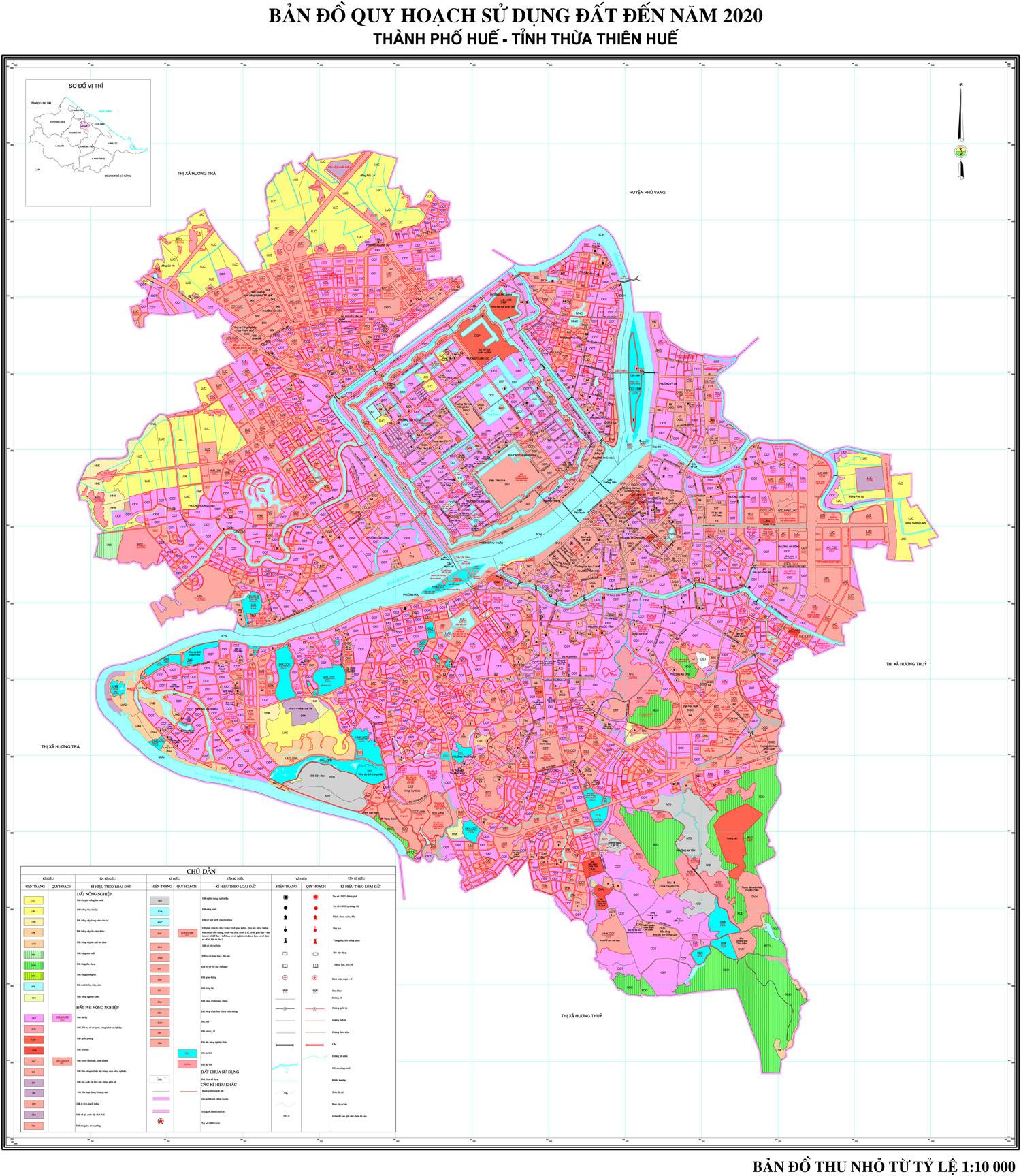 Bảng giá nhà đất Thừa Thiên Huế từ năm 2015 đến 2020
