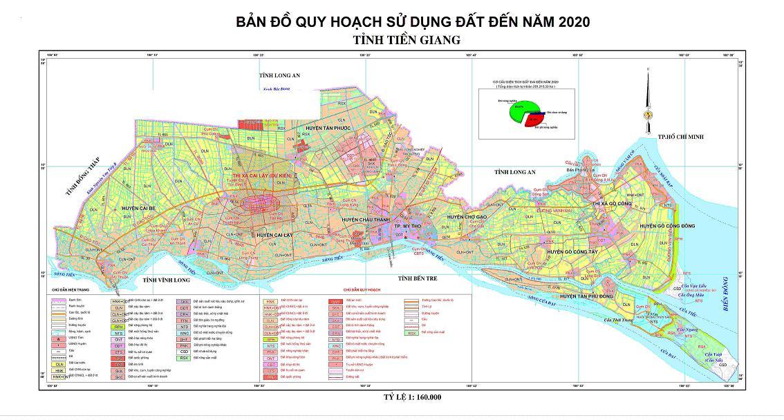 Bảng giá nhà đất Tiền Giang từ năm 2015 đến 2020