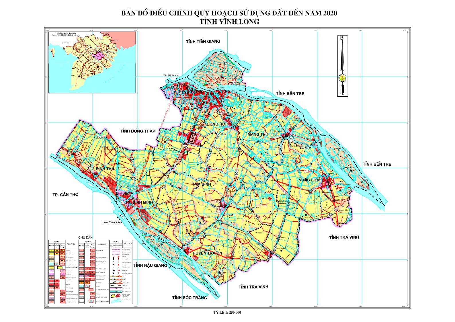 Bảng giá nhà đất Vĩnh Long từ năm 2015 đến 2020