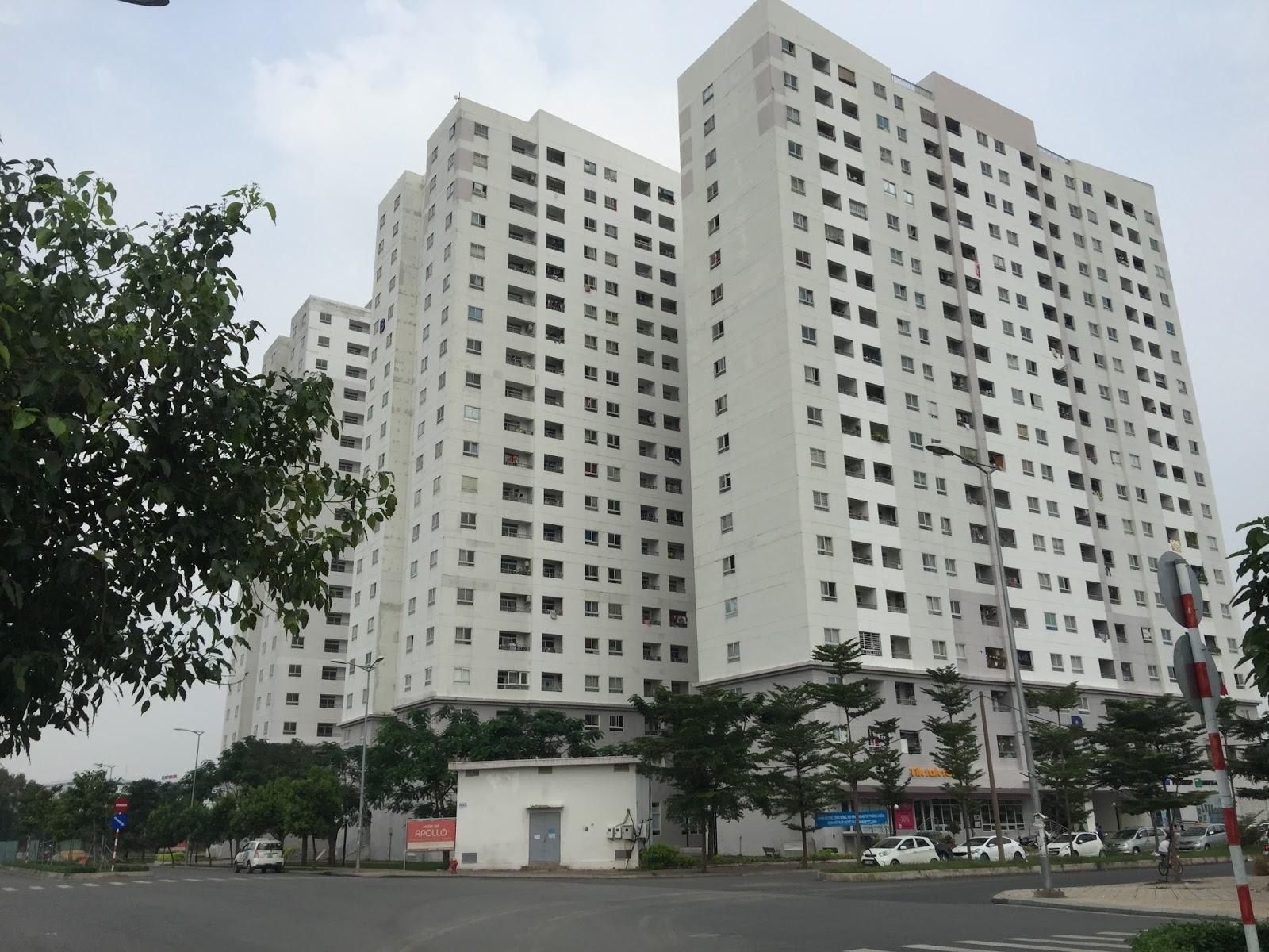 Cho thuê căn hộ chung cư 1050 Chu Văn An đơn giản trẻ trung khu hạng A