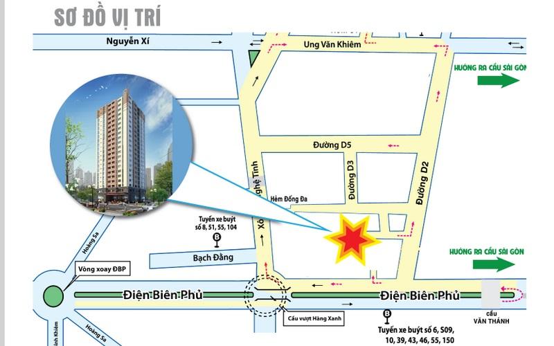 Cho thuê căn hộ chung cư Saigonland Apartment – Giá Tốt Nhất