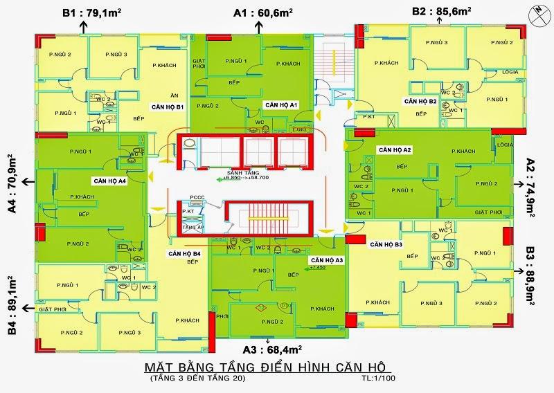 Cho thuê căn hộ cao cấp Saigonland Apartment nằm rất gần các tiện ích