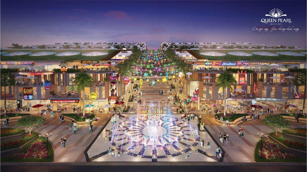 Nhà phố Queen Pearl Tân Việt Phát không gian thanh bình đậm phong cách