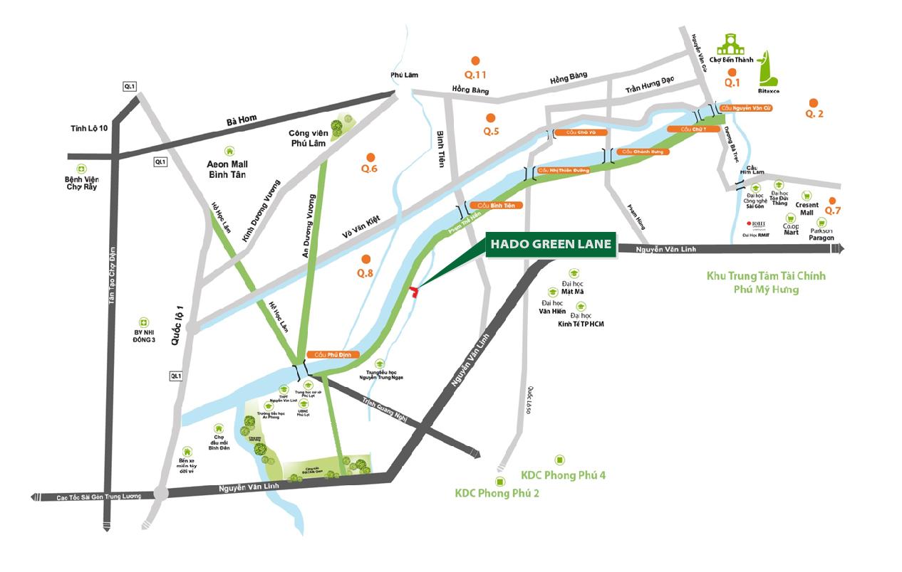 Dự án căn hộ hạng sang Hà Đô Green Lane Trong cuộc đua nhà ở cao cấp