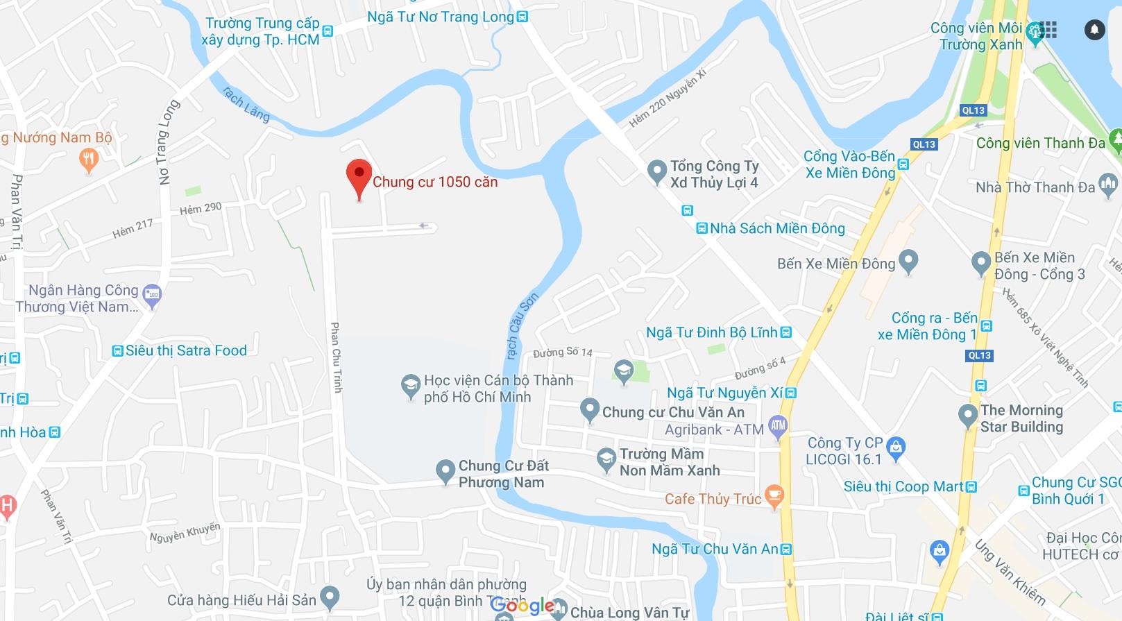 Căn hộ cao cấp 1050 Chu Văn An cho thuê đảm bảo thẩm mỹ sống thanh bình