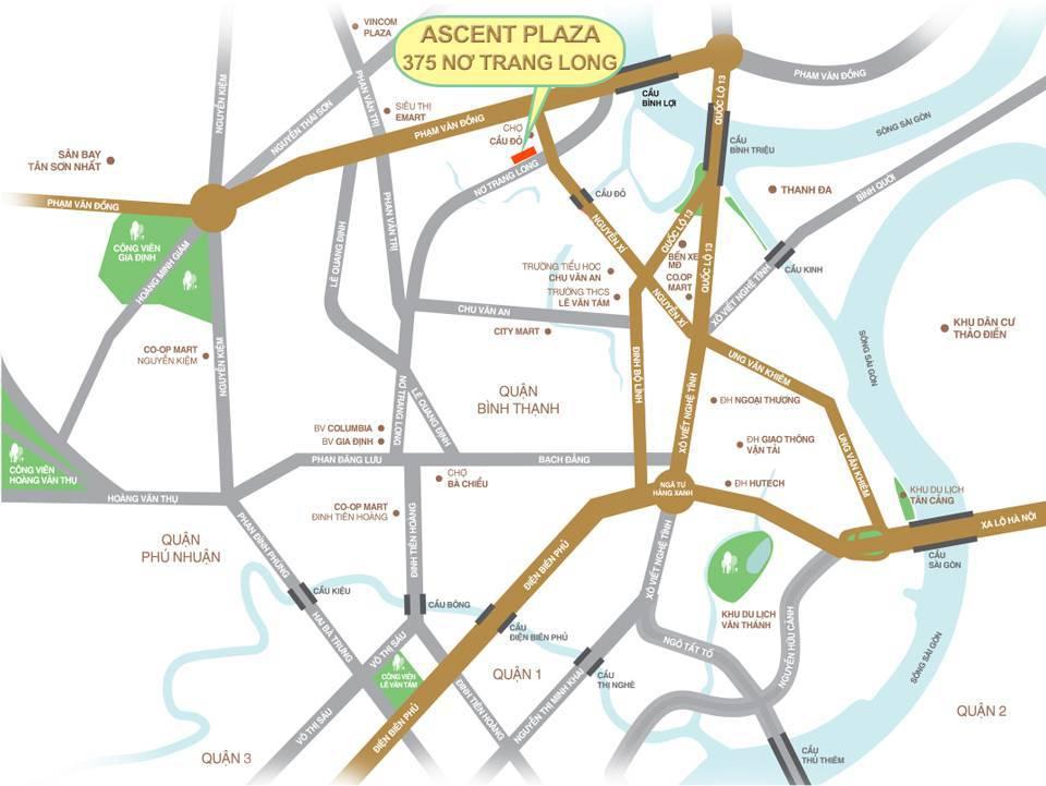 Giá Cho thuê căn hộ chung cư Ascent Plaza bao nhiêu ?