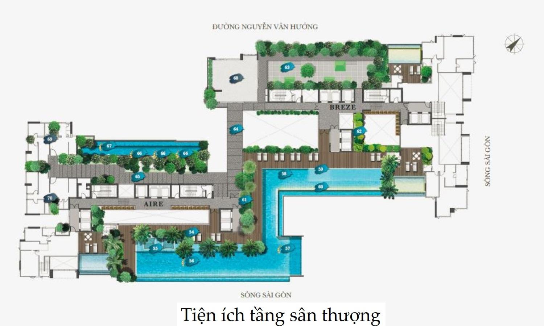Cho thuê căn hộ chung cư D'Edge Thảo Điền