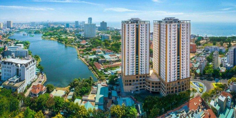 Căn hộ chung cư hạng sang Vũng Tàu Melody cho thuê dự án xanh bên dòng kênh xanh