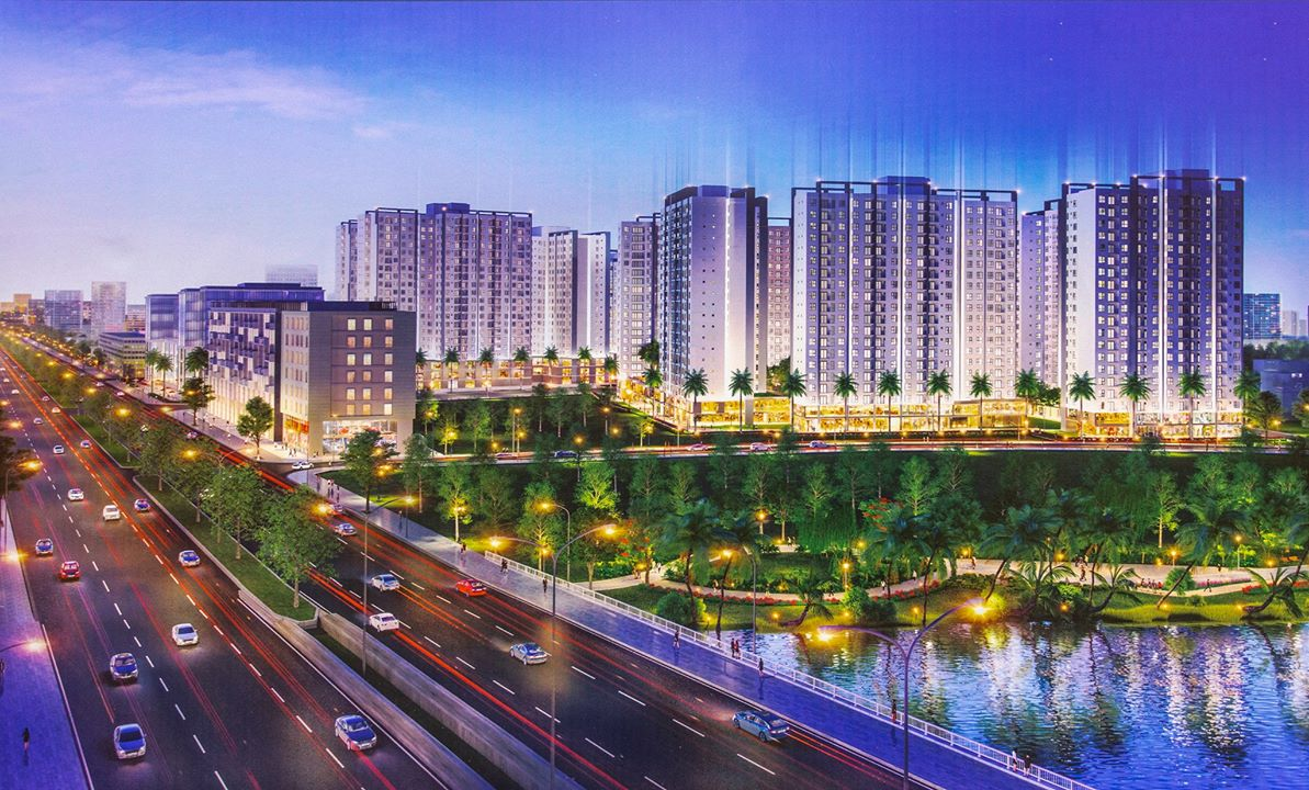 dự án căn hộ chung cư Akari City nam Long Bình Tân