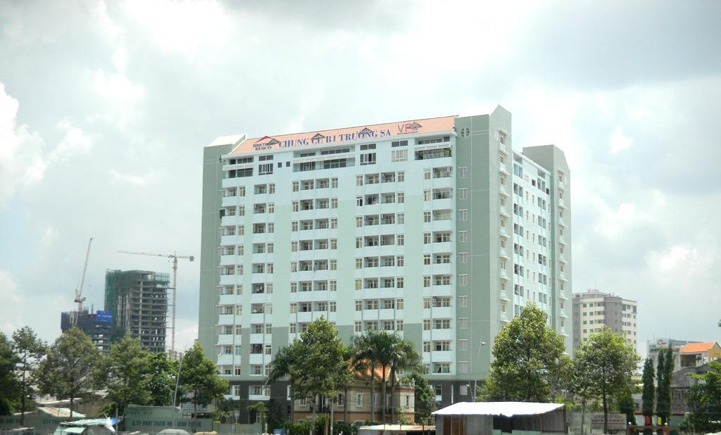 Bảng giá cho thê căn hộ chung cư B1 Trường Sa Bình Thạnh