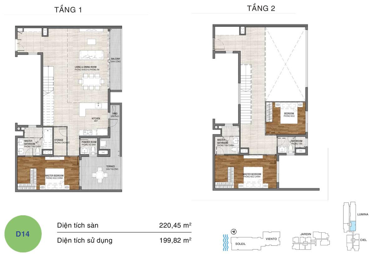 dự án căn hộ One Verandah quận 2