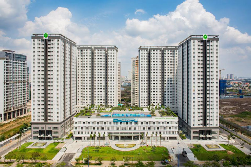 Cho thuê căn hộ chung cư Lexington Residence giá rẻ tại An Phú