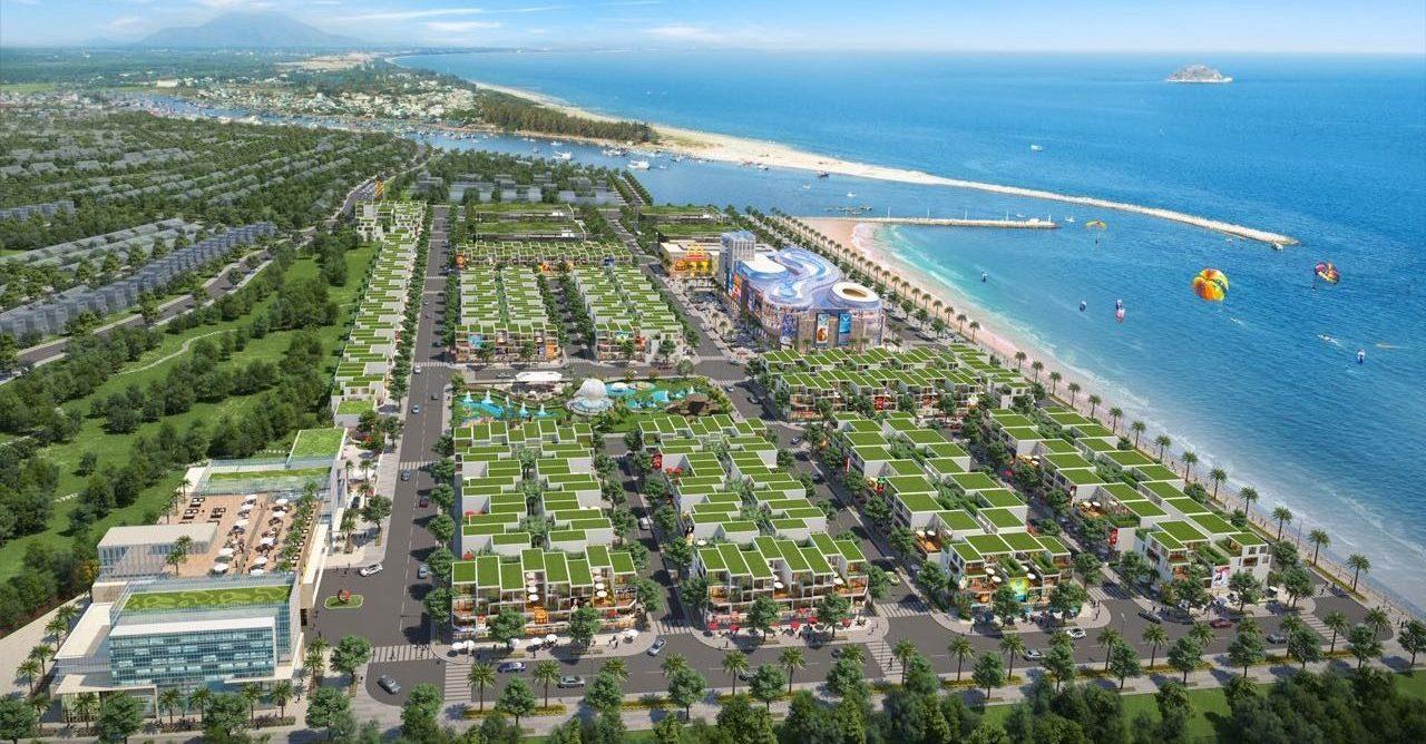 Queen Pearl Marina Complex Nhà phố cao cấp phù hợp đầu tư sống đẳng cấp